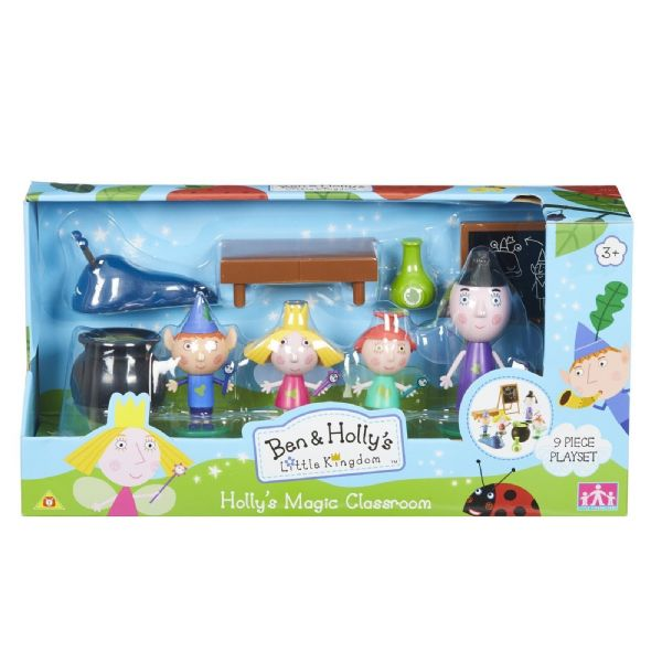 Ben And Hollys Little Kingdom Holly's Magic Classroom Playset Toy Figures